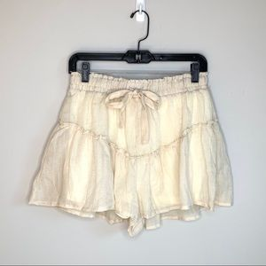 Favlux, Double Zero short in cream or gray new M